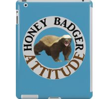 Honey Badger Attitude iPad Case/Skin