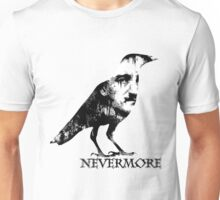 Nevermore (Black Text) Unisex T-Shirt