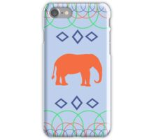 Whimsical Elephant Rings & Diamond Design  iPhone Case/Skin