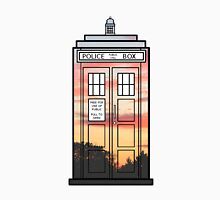 Sunset TARDIS T-Shirt