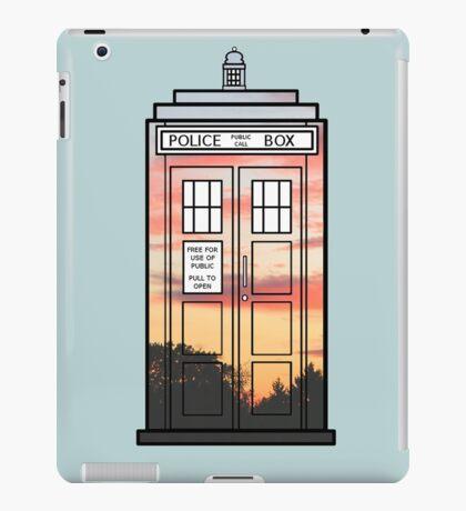 Sunset TARDIS iPad Case/Skin