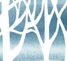 Baby Blue Forest Sticker