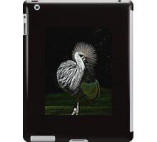 Spring crown crane iPad Case/Skin