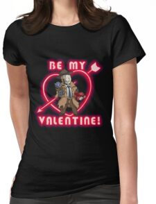 Be My Nick Valentine Womens Fitted T-Shirt