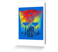 War On Earth Greeting Card
