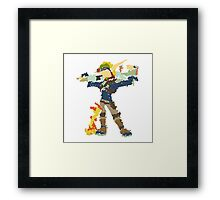 Jak and Daxter - Scribble Art Framed Print