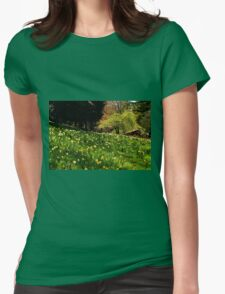 Daffodil Hill Womens Fitted T-Shirt
