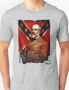 General Robert E Lee Confederate States Civil War South Military Top T-Shirt