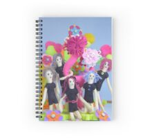 Felt Fantasy Playground  Spiral Notebook