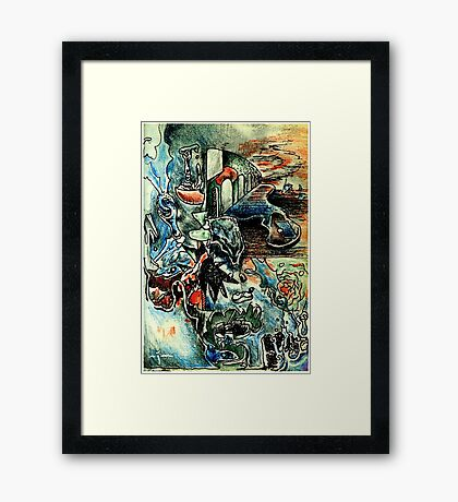 Edition #8 Framed Print