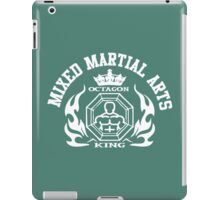 MMA Mixed Martial Arts Octagon King iPad Case/Skin