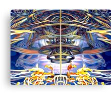 Rings of Mystery Canvas Print