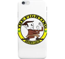 The Fighting Brown Coats with logo iPhone Case/Skin