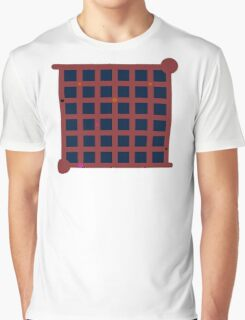 The Witness Red Ship Door Graphic T-Shirt
