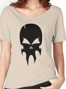 Skull - version 1 - black Women's Relaxed Fit T-Shirt