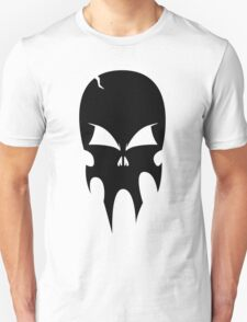 Skull - version 1 - black Unisex T-Shirt