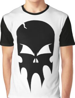 Skull - version 1 - black Graphic T-Shirt
