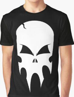 Skull - version 2 - white Graphic T-Shirt