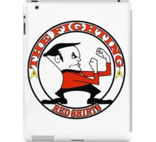 The Fighting Red Shirts with logo iPad Case/Skin