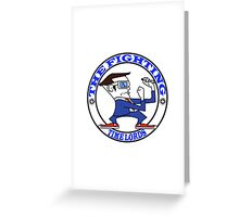 The Fighting Tine Lords with logo Greeting Card