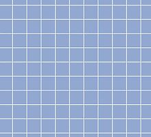 Large Grid - Pantone Serenity by liminalspaces