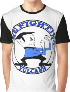 The Fighting Vulcans with logo Graphic T-Shirt
