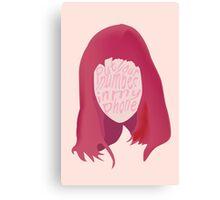 Ariel Pink Canvas Print