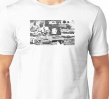Vanishing Point Collage Unisex T-Shirt