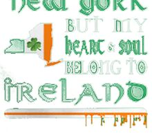 NEW YORK - IRELAND by HotTShirts