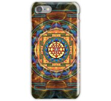 The Sri Yantra - Sacred Geometry iPhone Case/Skin