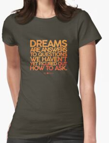 X-Files Dreams Womens Fitted T-Shirt