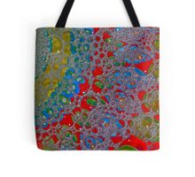 Bubbly Patterns Abstract Tote Bag
