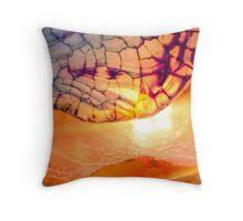 Passion's Glow Throw Pillow