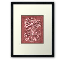 Holy Trinity illustration Framed Print