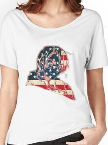 America and His Flag Women's Relaxed Fit T-Shirt