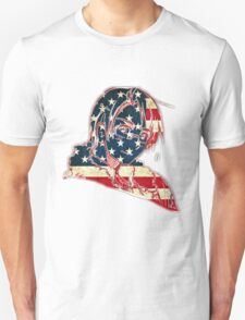 America and His Flag Unisex T-Shirt