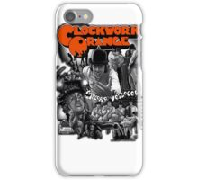 Clockwork Orange Graphic iPhone Case/Skin