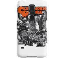 Clockwork Orange Graphic Samsung Galaxy Case/Skin