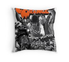 Clockwork Orange Graphic Throw Pillow