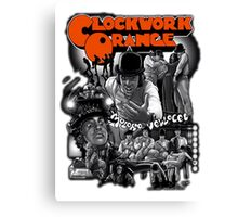 Clockwork Orange Graphic Canvas Print