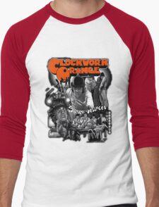 Clockwork Orange Graphic Men's Baseball ¾ T-Shirt