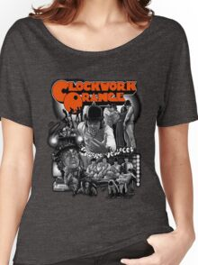 Clockwork Orange Graphic Women's Relaxed Fit T-Shirt