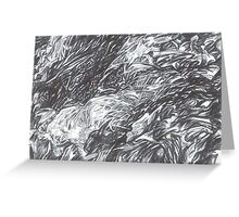 abstract landscape 1 Greeting Card