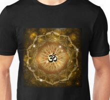 Golden Sound of Om Unisex T-Shirt