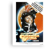 Clockwork Orange Poster Canvas Print