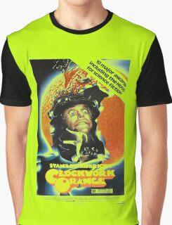 Clockwork Orange Poster Graphic T-Shirt