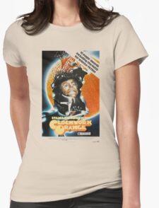 Clockwork Orange Poster Womens Fitted T-Shirt