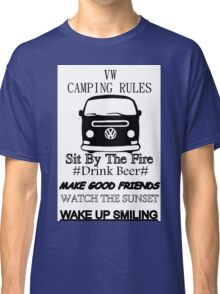 camping rules Classic T-Shirt