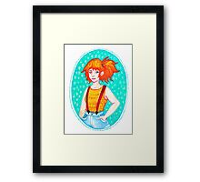 Miss Misty Framed Print