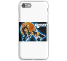 Clockwork Orange graphic tee iPhone Case/Skin